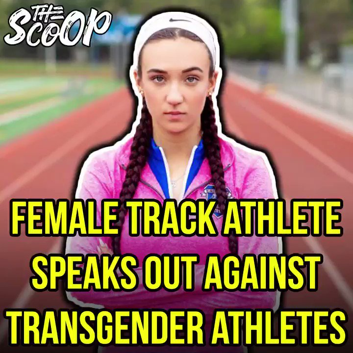 This star high school athlete had opportunities taken away from her due to transgender athletes https://t.co/8P9pwOGeW1