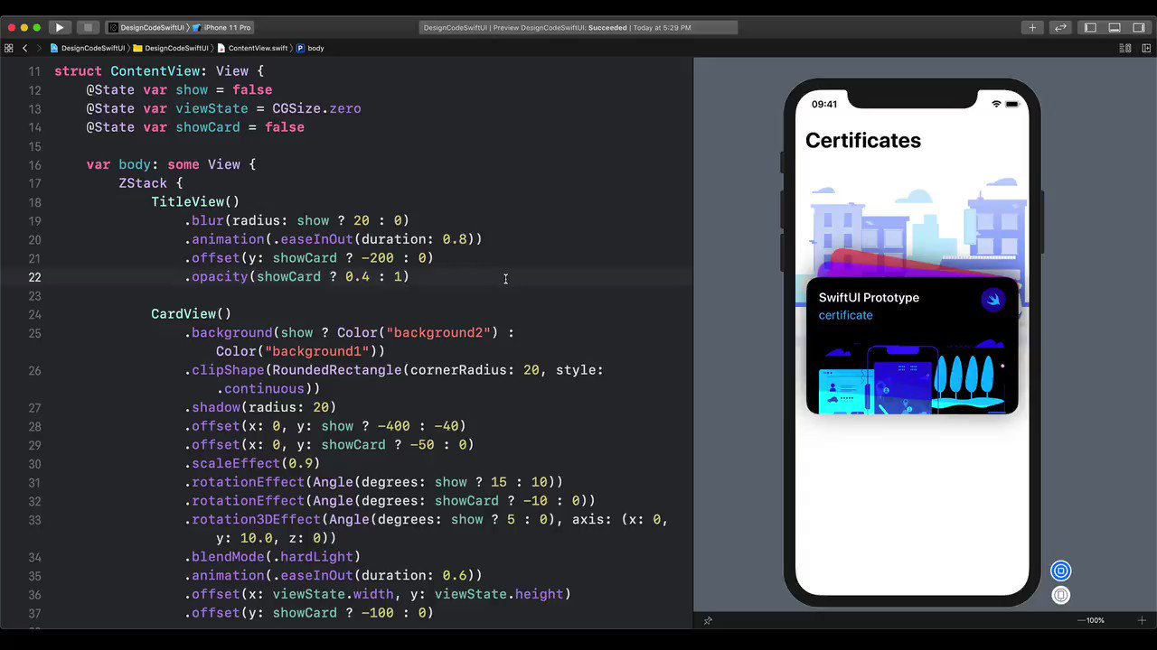 SwiftUI is such a good way to test app concepts without limitations. https://t.co/3j6OPDBfC8