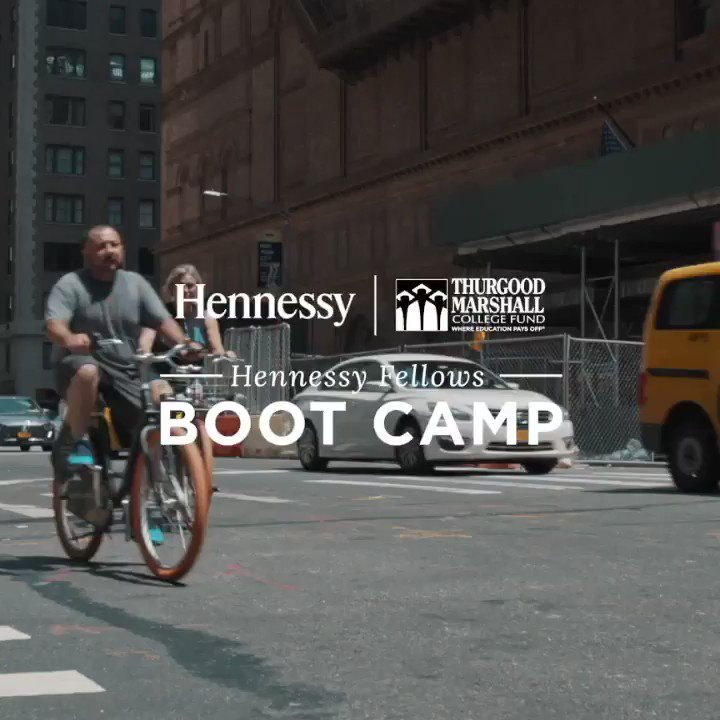 The #HennessyFellows program is an initiative from @HennessyUS and @tmcf_hbcu to champion diversity and empower tomorrow's leaders. For more information, visit the site.