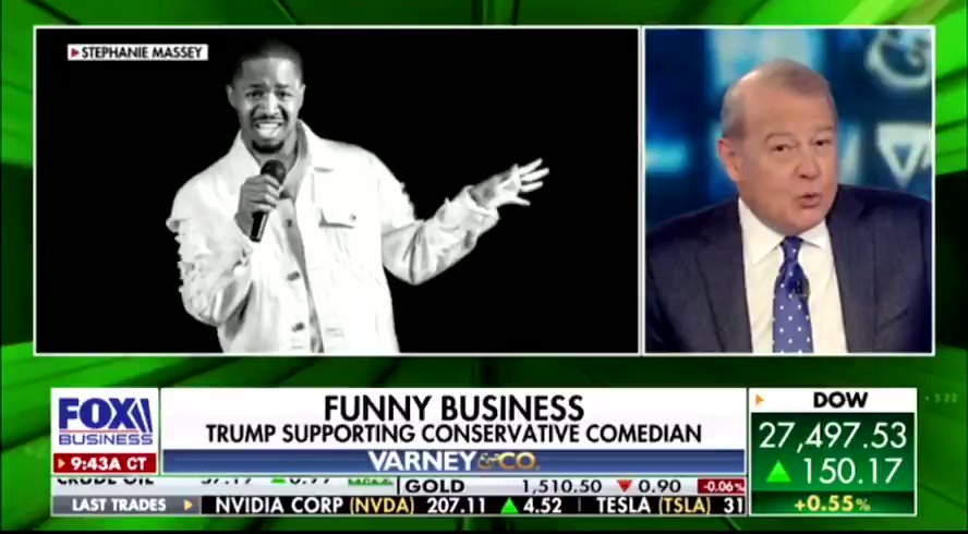 I CANT BELIEVE I WAS INTERVIEWED BY @Varneyco ON FOX NEWS!   My live studio interview!  We talked about Twitter Censorship & how Hollywood has blacklisted me for being a Trump Supporter.   I WILL NOT SELL MY SOUL! I WILL CONTINUE TO STAND UP FOR WHATS RIGHT!  Who's with me ? https://t.co/9fPbGeXYDD