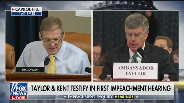 """Ouch.  🔥🔥🔥  @Jim_Jordan smokes it here.  """"We got six people having four conversations in one sentence, and you just told me this is where you got your clear understanding."""""""