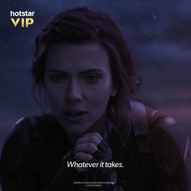 HOTSTAR VIP brings AVENGERS ENDGAME to us, that too in Hindi, Tamil & Telugu! It has been an honour to be the voice for #BlackWidow,a fierce soul & one of the crucial characters in the incarnation of the team. I am thrilled and excited,are you?  @HotstarVIP
