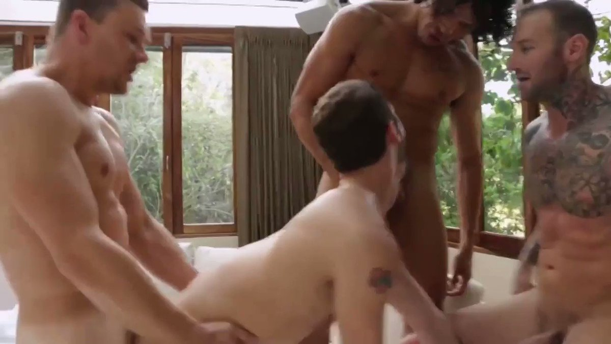 Love what a fucking bossy cunt @XXXDylanJames is when it comes to ass to mouth. Here's him and @AlejandroCastX sucking cock and cum from a tight hole with @DraeAxtellXXX @vic_andrey @StasLandon @AsherDevinXXX - pt 3 of 3  #gayorgy #gaysex #gayporn #bb