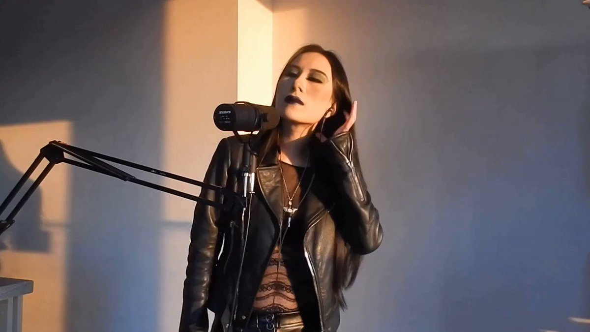 This is a short clip of my new cover Insanity's Crescendo by the amazing Dark Tranquillity @dtofficial. @MiklStne coolest leather jacket style.  The full version is here: