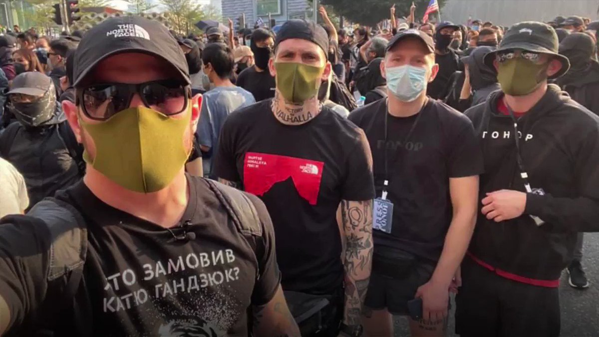 Ukrainian neo-Nazis fly to Hong Kong to join protests