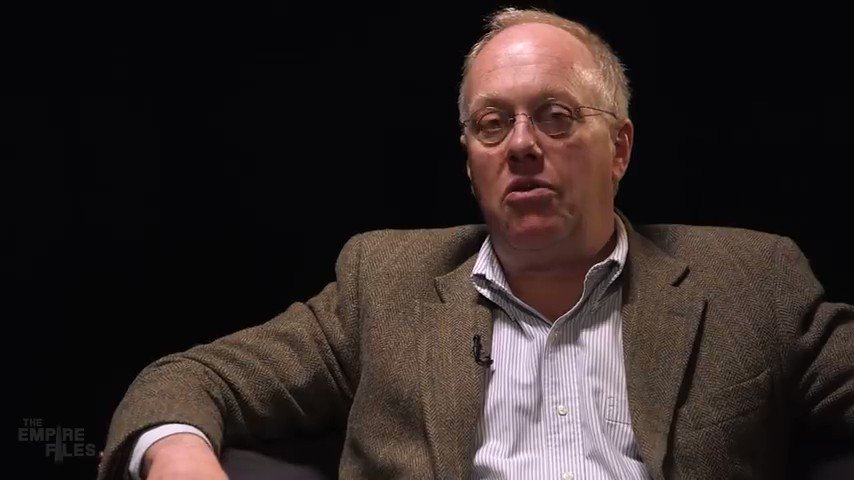 """""""We're in a very, very serious moment in American history... certainly through the electoral system, there's no way out."""" –Chris Hedges"""
