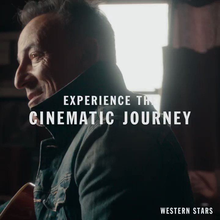 Experience the cinematic journey of Bruce's critically-acclaimed album.   #WesternStarsMovie is available on Digital & Blu-ray NOW. Online only.   🎥