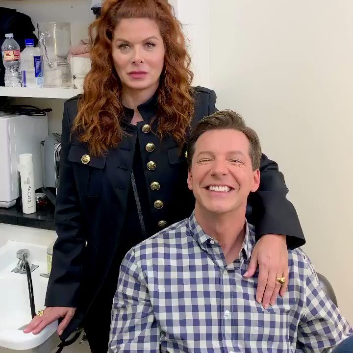 We're back with our final episodes starting 🎵tomorrow🎵 only on NBC. #WillandGrace @WillAndGrace @EricMcCormack @DebraMessing @MeganMullally @nbc