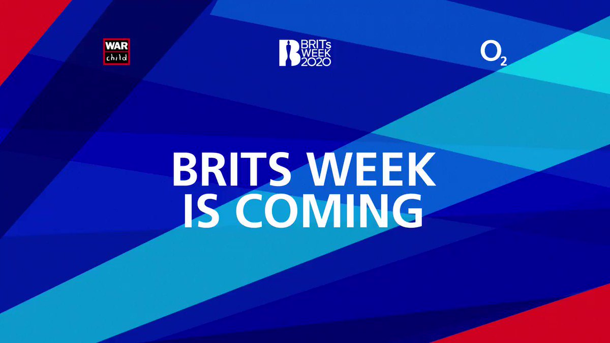 #BRITsWeek is coming. Huge artists performing in intimate venues. All in support of War Child. LIKE 💙 this tweet to be the first to know this year's massive line-up.
