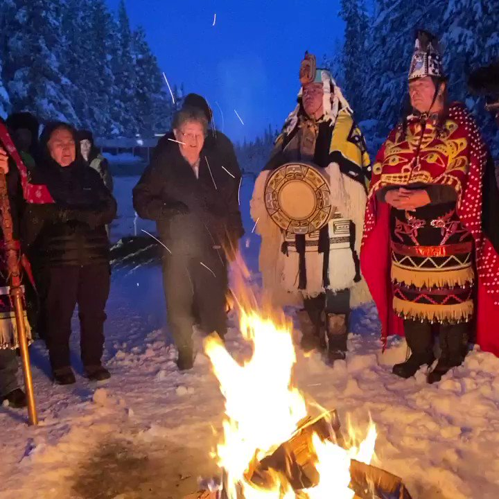 We have never been a position like this ever. What we are doing impacts indigenous Peoples from all around the World whether they know it or not. The Canadian and B.C. governments have created a crisis and left it to CGL and the RCMP to bring violence to our lands. https://t.co/TCgMvQymdm
