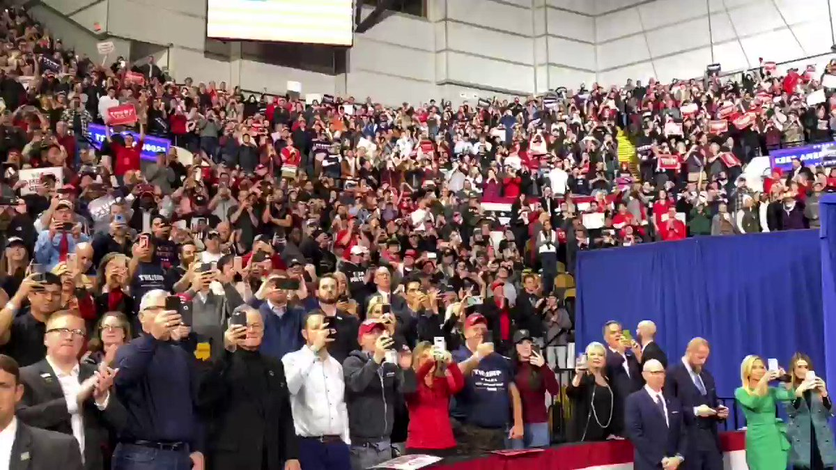🚨HAPPENING NOW🚨 President Trump hosting a MASSIVE rally in Milwaukee, Wisconsin with Great American Patriots, all with the same goal in KEEPING AMERICA GREAT under the Trump Administration! #TrumpRallyMilwaukee #KAG2020