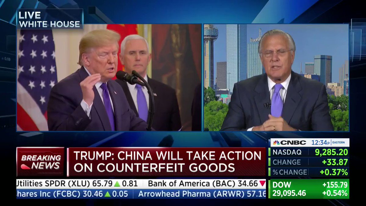 """Clinton Trade Rep: past administrations let China get away with """"too much,"""" Trump is now """"calling their card"""""""