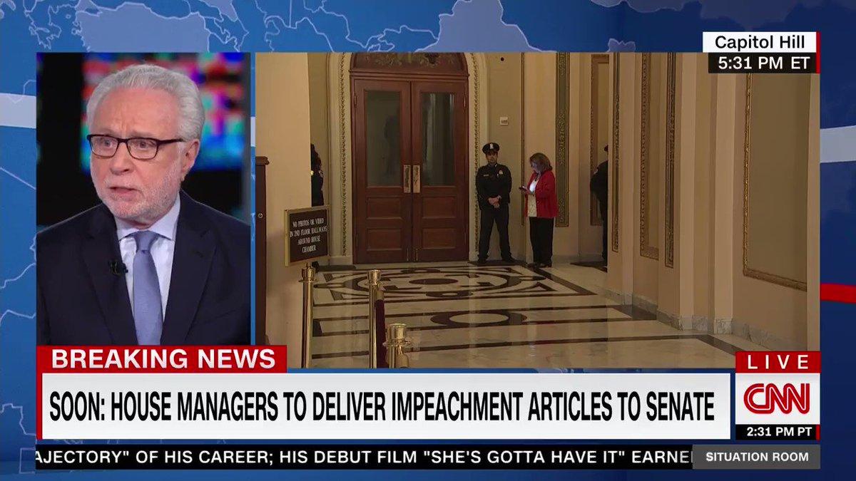 "CNN panel: Pelosi handing out impeachment pens was a ""jarring"" ""celebration"""