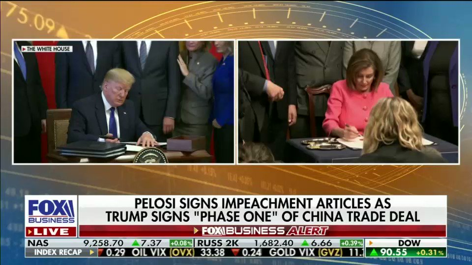 President Trump is on a winning streak. Trade deals w/ Japan, Mexico&Canada, and China.   @realDonaldTrump is obsessed w/ growing jobs and securing trade wins, Dems are obsessed w/ impeachment. #MAGA