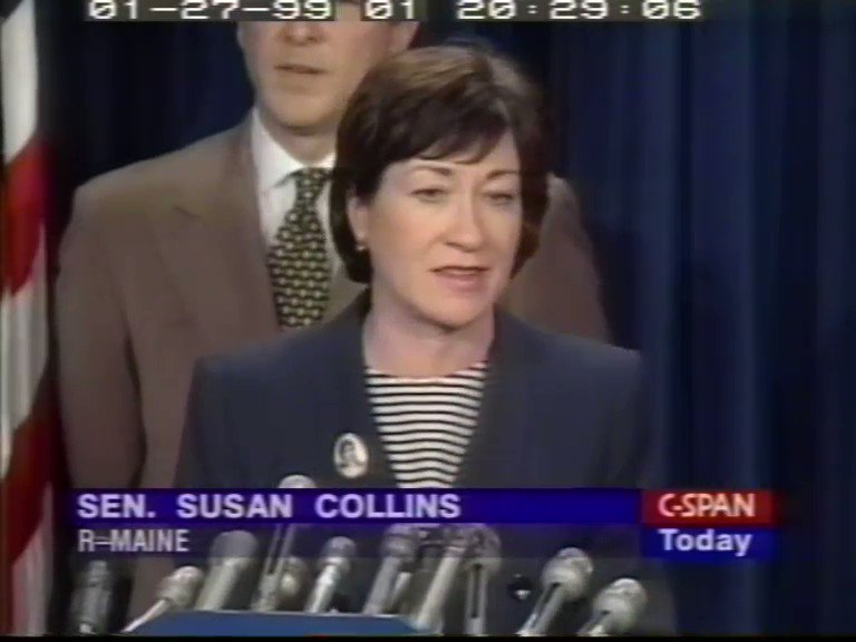 MAKE. THIS. GO. VIRAL.🔥  Susan Collins' hypocrisy must be exposed!