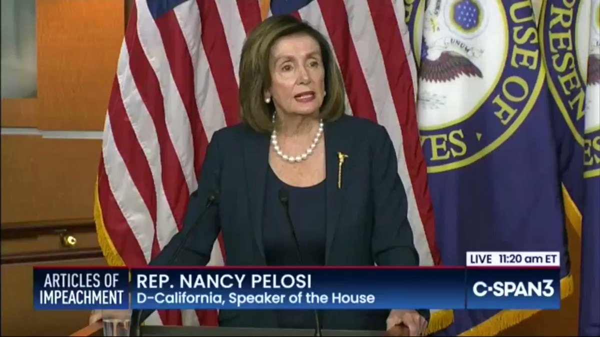 """Pelosi on impeachment witnesses: """"It's not a question"""" of """"proof"""" it's about """"allegations"""""""