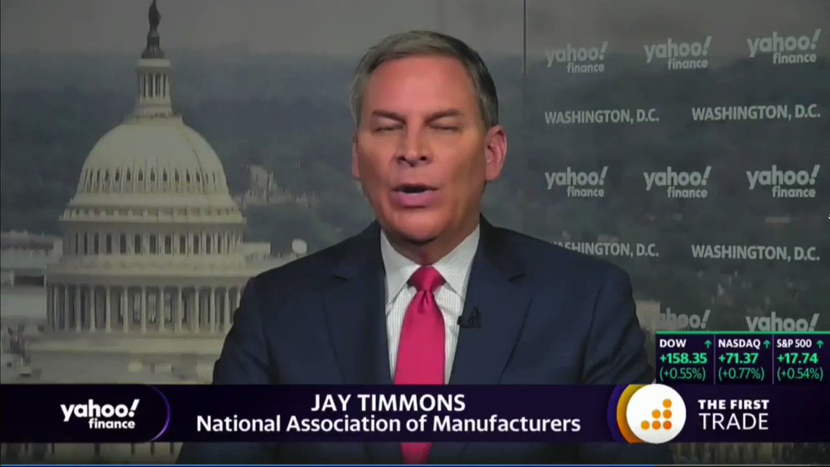 """National Association of Manufacturers President: President Trump has """"delivered,"""" """"promises are being kept"""" for manufacturers"""