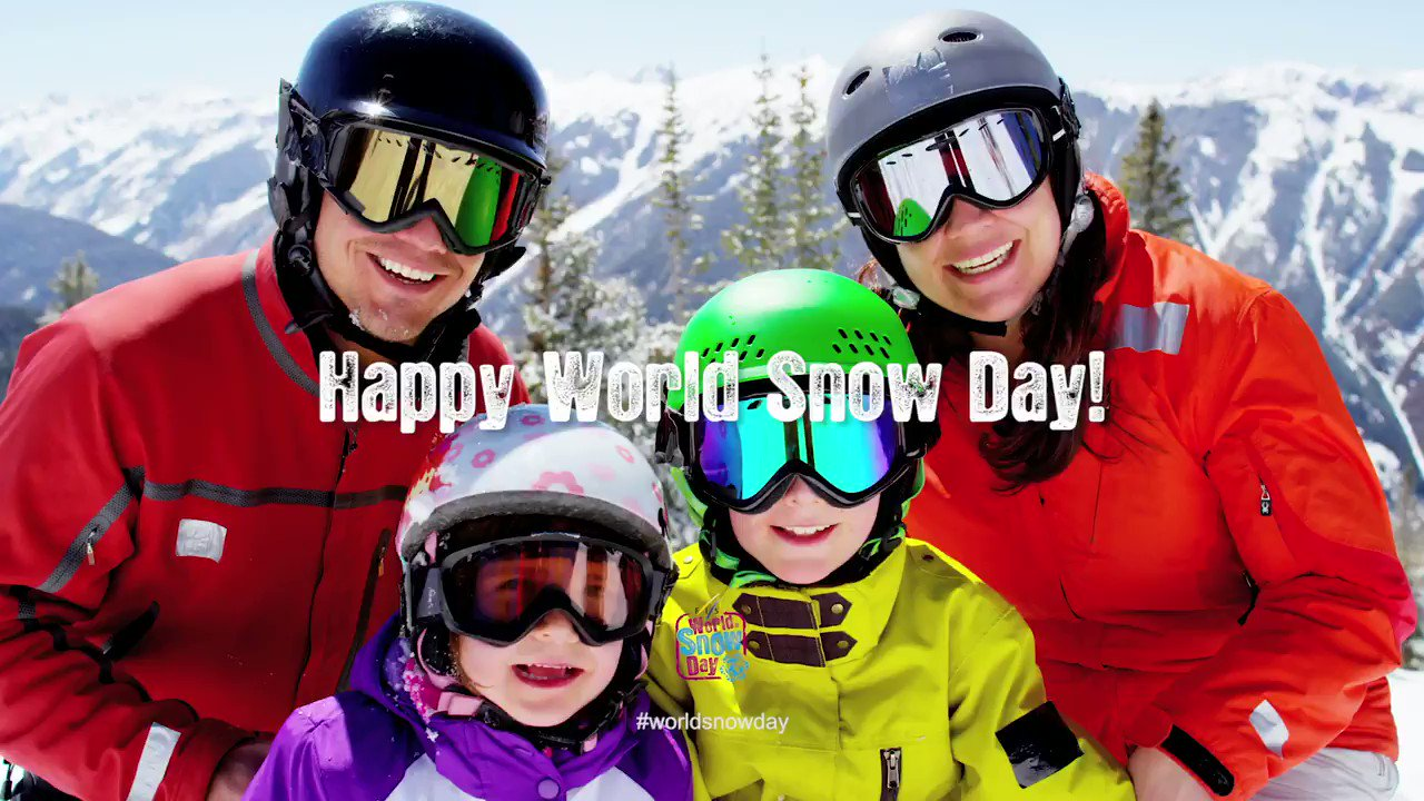 Its time to bring a new generation to skiing. Happy World Snow Day to all the kids and families. #worldsnowday https://t.co/bd6aLVYZbU