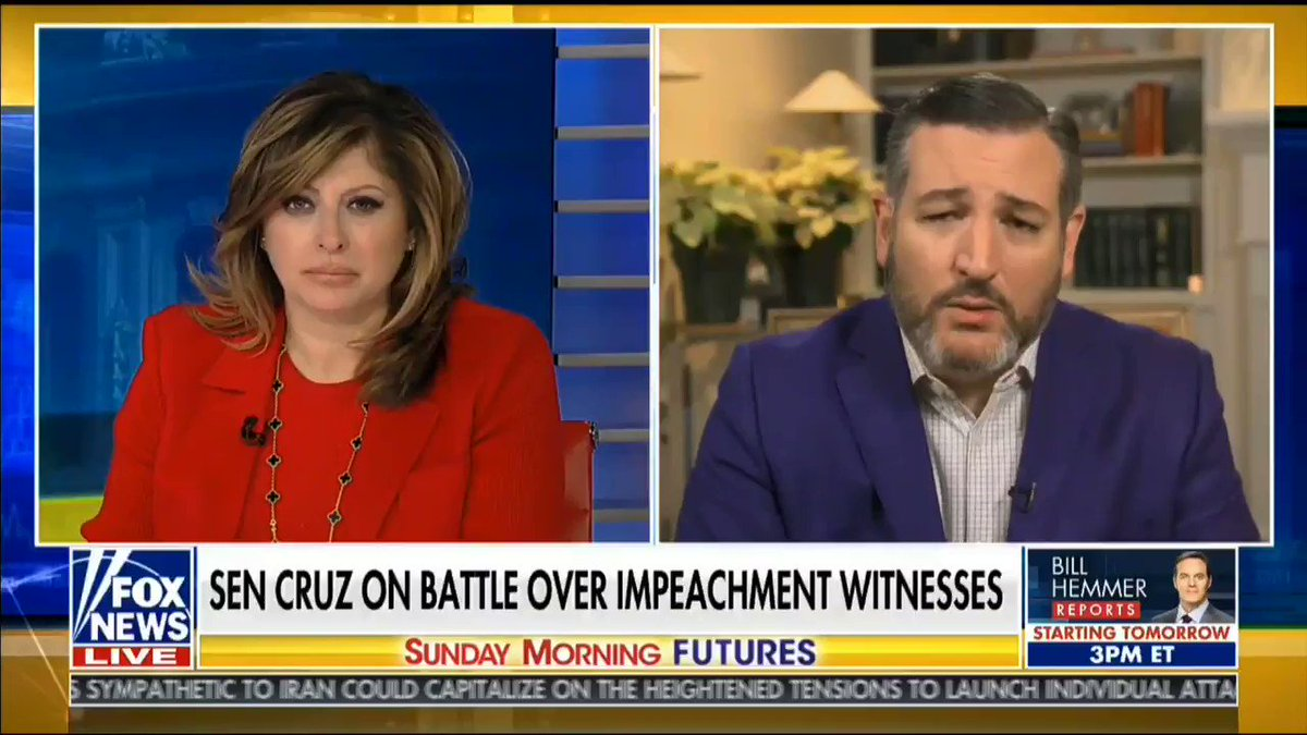 """""""If the Biden family is profiting to the tune of millions of dollars, the President is entirely justified saying, let's investigate and find out what happened."""" -@SenTedCruz"""