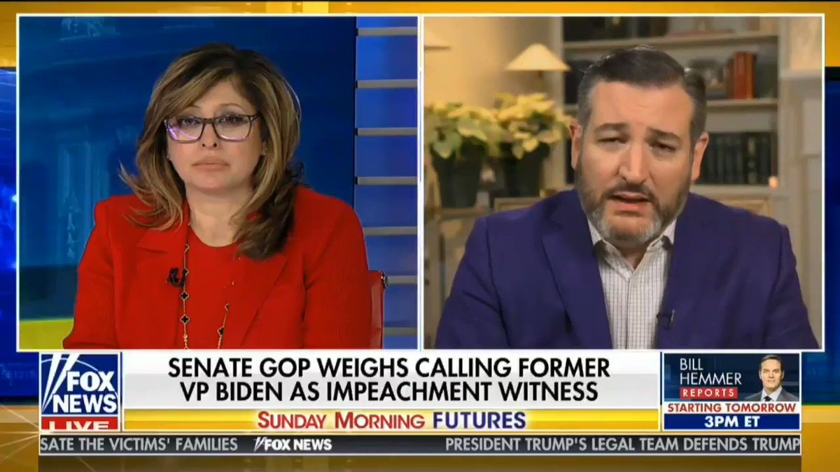 """""""To use impeachment like the House Democrats are doing, to express their political disagreement with the President, to try to overturn an election they're unhappy with, that is an abuse of the Constitution."""" -@SenTedCruz"""