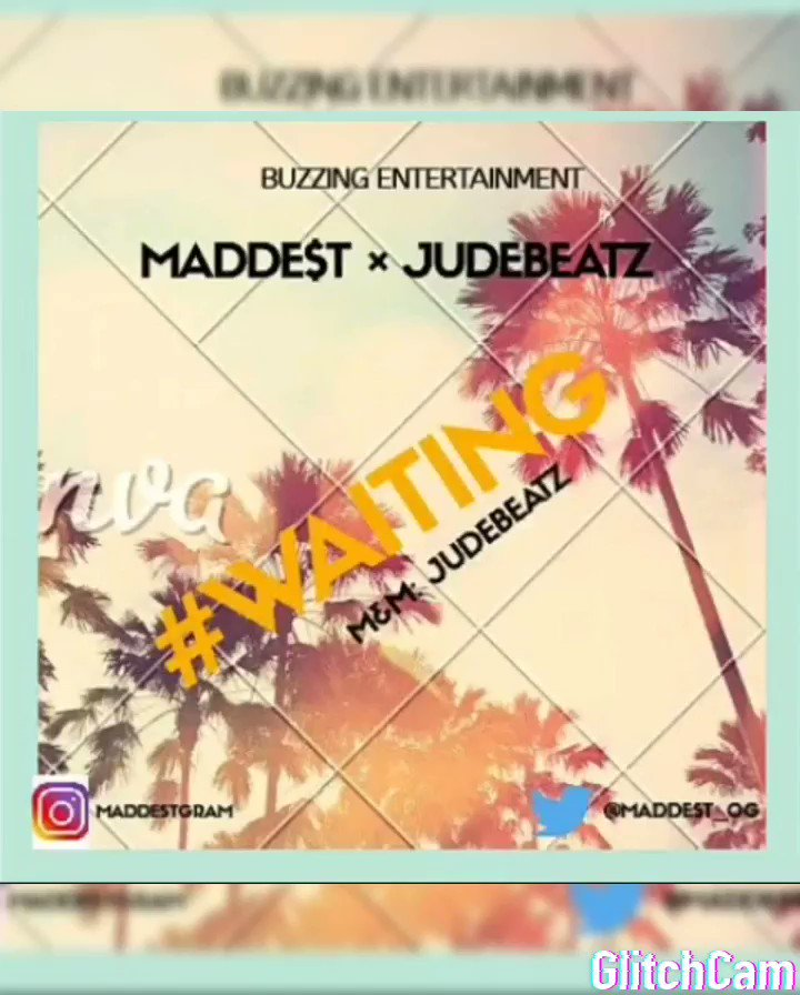 """My first official release for the year! Download/play/listen """"Waiting"""" by yours truly  M&m: @Judebeatz  (Please if this pops on your TL kindly help retweet & support my hustle 🙏) ENJOY 🎶🔂💜💜 #Afropop #Afrobeats #AusOpen #burnaboy #grammys  #CHEARS"""