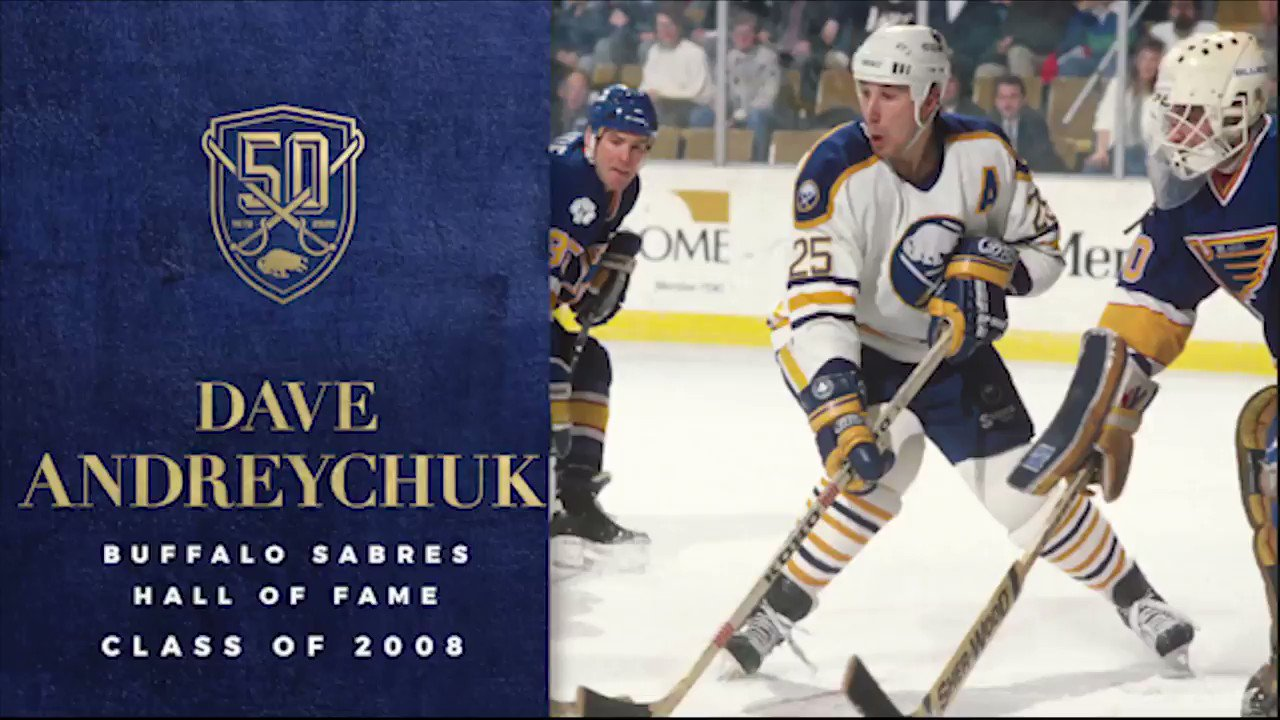 One of the toughest men to ever don the blue and gold.   #Sabres50 https://t.co/NAuYX3GsvI
