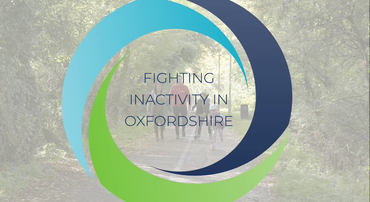 Physical inactivity in modern life is affecting our health, communities and happiness. How can #HealthyPlaces help? @OxfordshireMind @HealthyBicester  #FightingInactivity