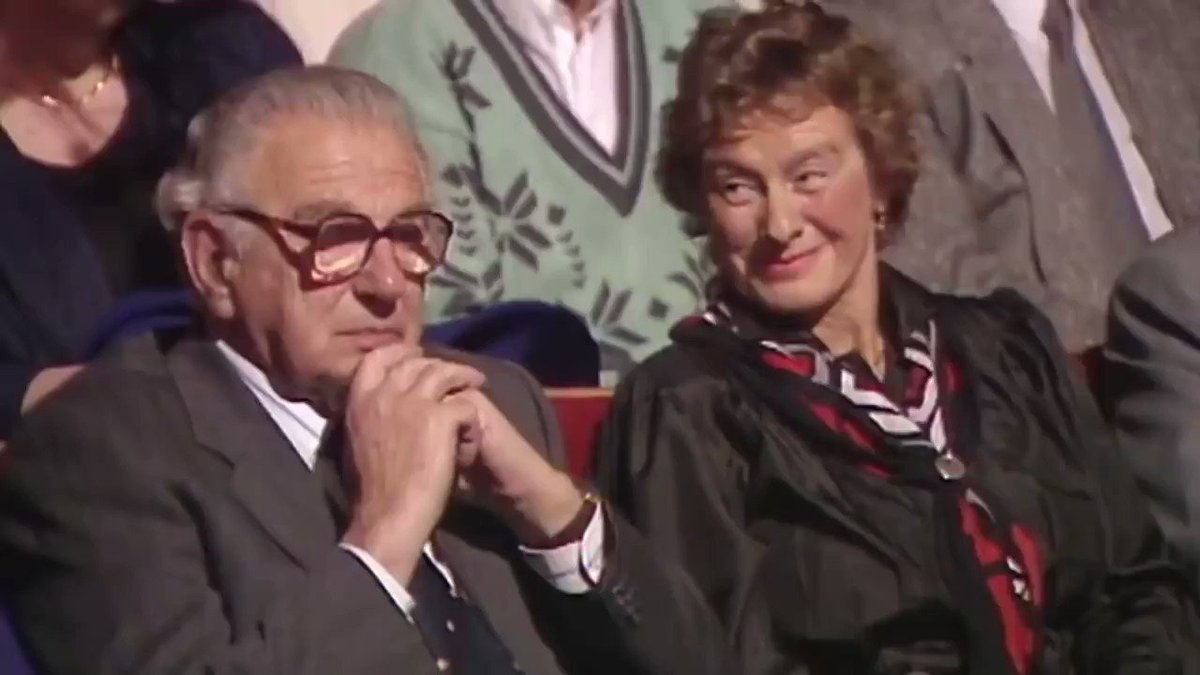 Nicholas Winton helped 669 Jewish children escape the Nazis. His efforts went unrecognized for 50 years; then in 1988, while sitting as a member of a TV audience, he suddenly found himself surrounded by the kids he'd rescued, now adults.  It often takes the dark to see the stars.