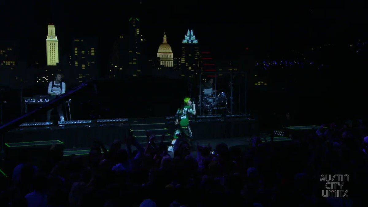 ✨✨✨Savor an hour with superstar and multi-GRAMMY® winner @BillieEilish.  Billie Eilish's debut #acltv performance airs this weekend - check your local @PBS listings  #austincitylimits #austin #atx #pbs #klru #billieeilish