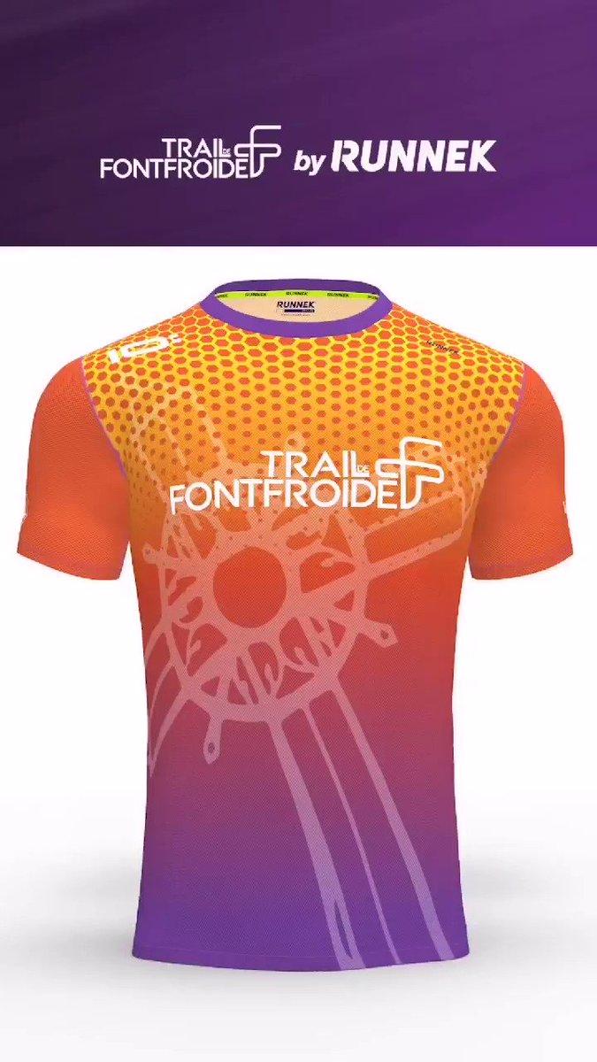 🔥Il est beau, il est chaud, voici le nouveau maillot Homme du 34km du Trail de...