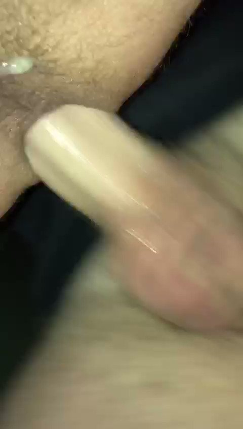 Watch me breed and eat my own load from this loose and sloppy fuck hole! I ate so much random spunk from this slut! 😍💦   #bbbh #breeding #raw #cumdump #bareback #rawislaw