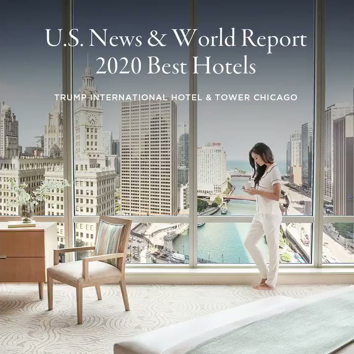 The 2020 @USNews Best Hotels rankings are in and @TrumpHotels is on top! Congratulations to all our  properties awarded for their outstanding hospitality 🏆