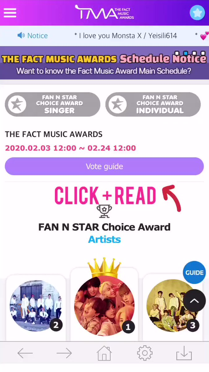 ⚠️ ARMY, THERE'S A 45.5k GAP!!   1.                    - 2,736,282  2. @BTS_twt - 2,690,720  ⬇️ Gap: - 45,562   Our boys are attending TFMA. Please cast your 🗳.