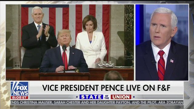 Last night, President @realDonaldTrump delivered an inspiring State of the Union honoring so many amazing men and women in this country! This is the Great American Comeback! 🇺🇸