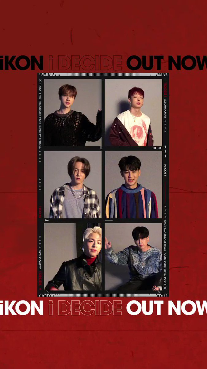 iKON - 'i DECIDE' OUT NOW   ▶️YouTube:   ▶️V:  ▶️Naver TV:   #iKON #아이콘 #The3rdMiniAlbum #i_DECIDE #iKON_iDECIDE #Title #뛰어들게 #Dive #OutNow #YG