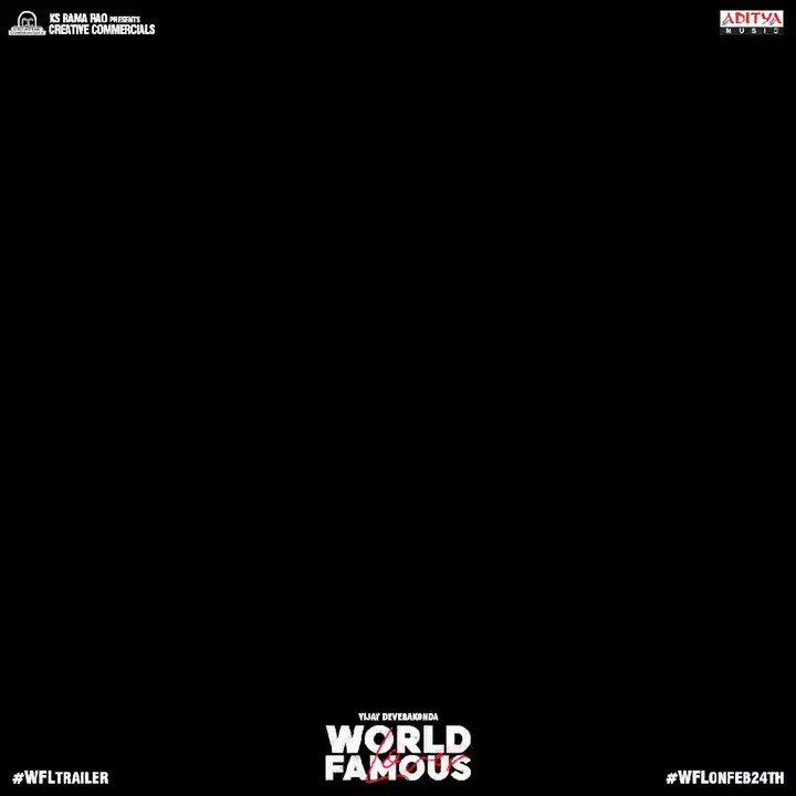 6M views with 231k Likes & Trending #1 on YouTube 🤘 #WorldFamousLover Trailer ❤️  #WFLTrailer -   #WFLonFeb14  @TheDeverakonda @RaashiKhanna @CatherineTresa1 @izabelleleite25 @aishu_dil @ksramarao45 @sahisuresh @adityamusic @GopiSundarOffl @CCMediaEnt