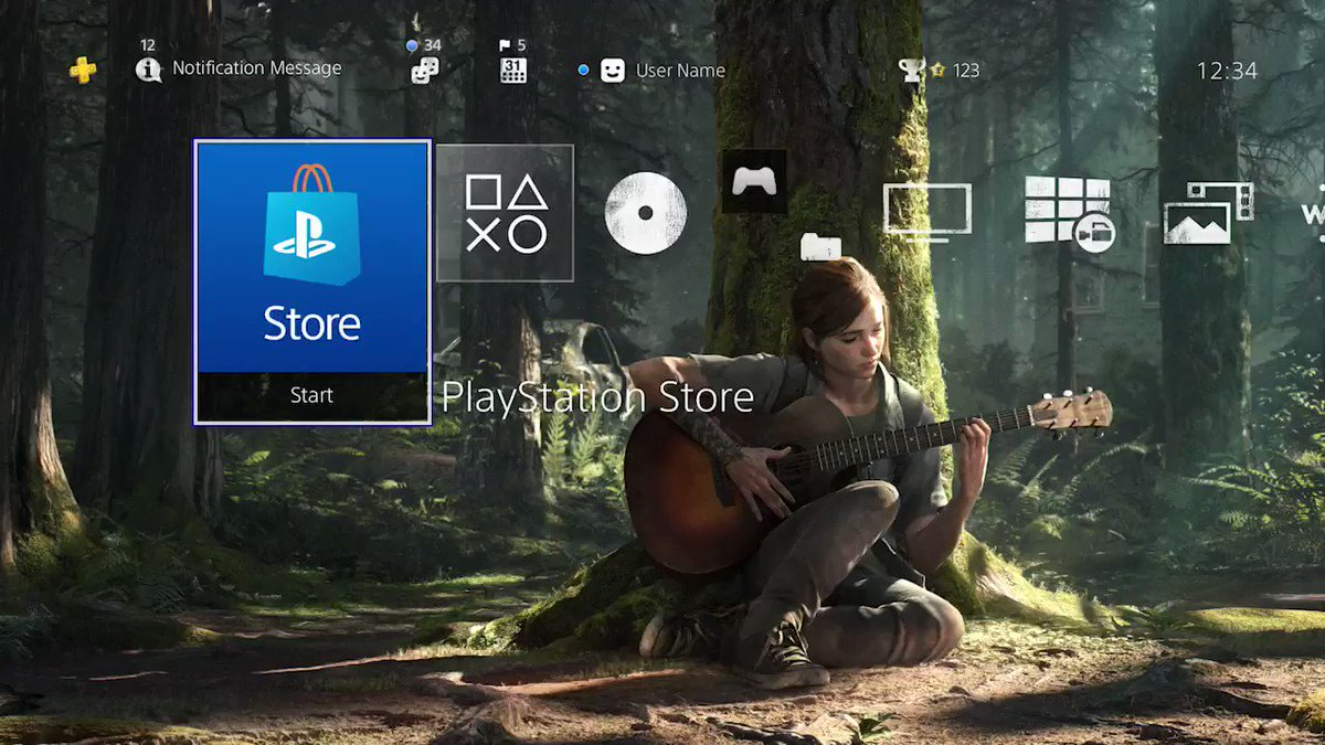 Our new The Last of Us Part II Duality theme shifts between night and day based on your PS4's clock. Get it for free by using these codes on @PlayStation Store:  Americas: 4FMP-BBNM-J5L3 Europe/AU/NZ/RU/ME/Africa/India: 9DEK-PKNG-N445 Japan: R833-6TNN-FFXF Codes expire 2/11/21