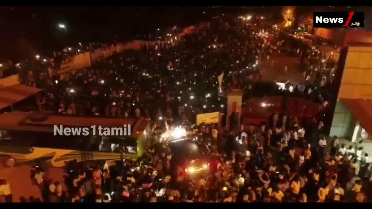 Most awaited Drone shot from Neyveli!   #Master #ThalapathyVijay