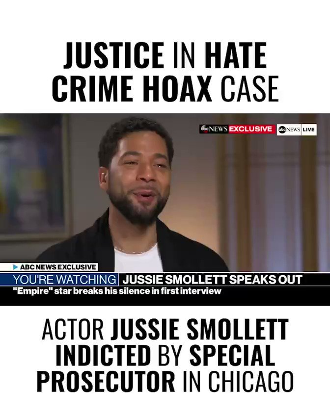 It looks like they finally indicted the guy who attacked Jussie. #justiceforjussie