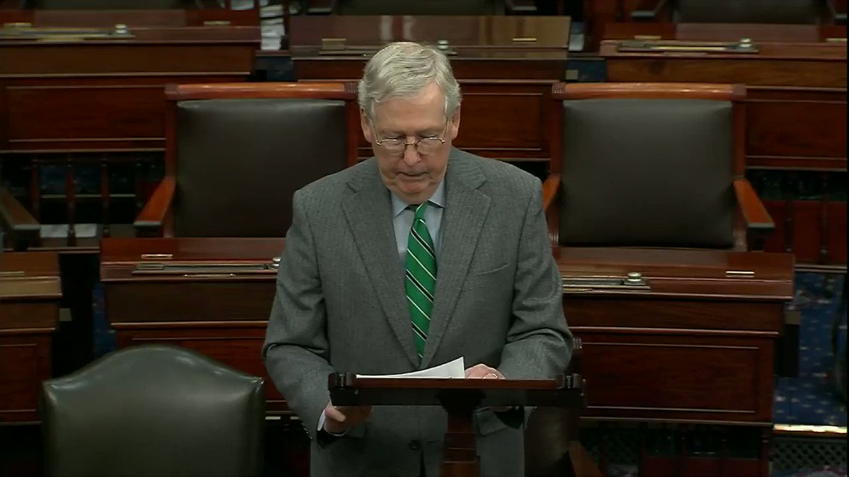 Before Democrats' reckless impeachment moves fully into the rear-view mirror, I spoke again on the Senate floor about the partisan abuses that drove this process and why they must never happen again.