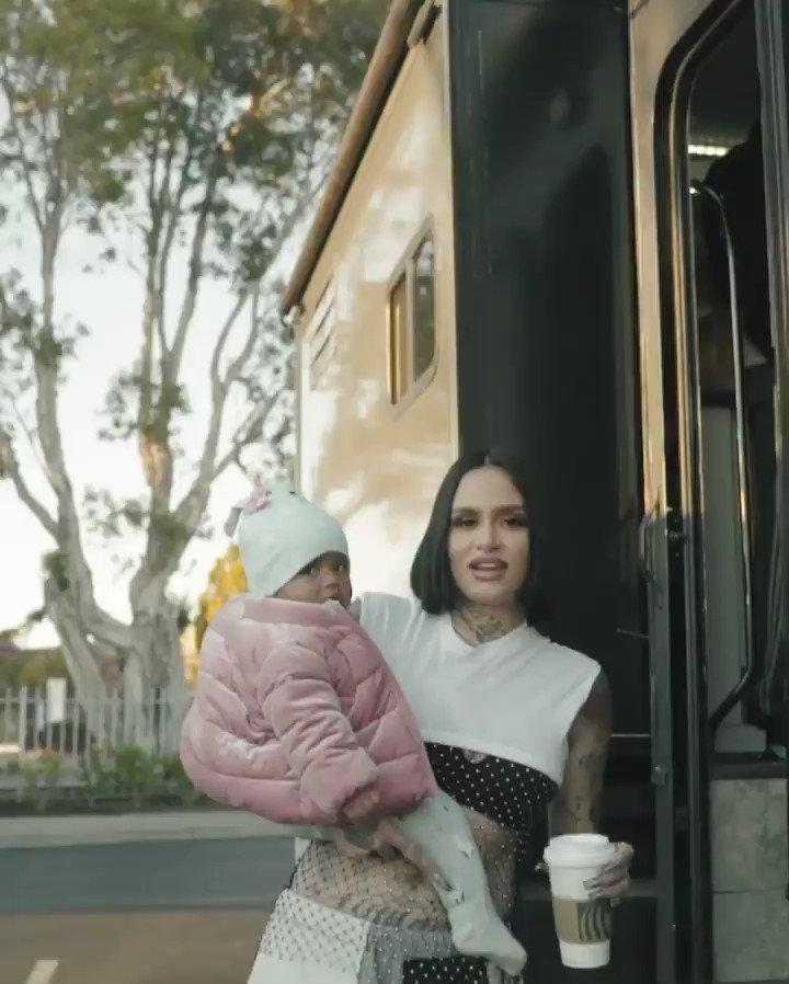 Kehlani & Adeya on set of the 'All Me / Change Your Life' music video.