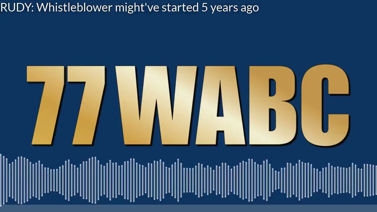 In case you missed it, here's a quick clip of @RudyGiuliani's interview on @77WABCradio!   Full show: