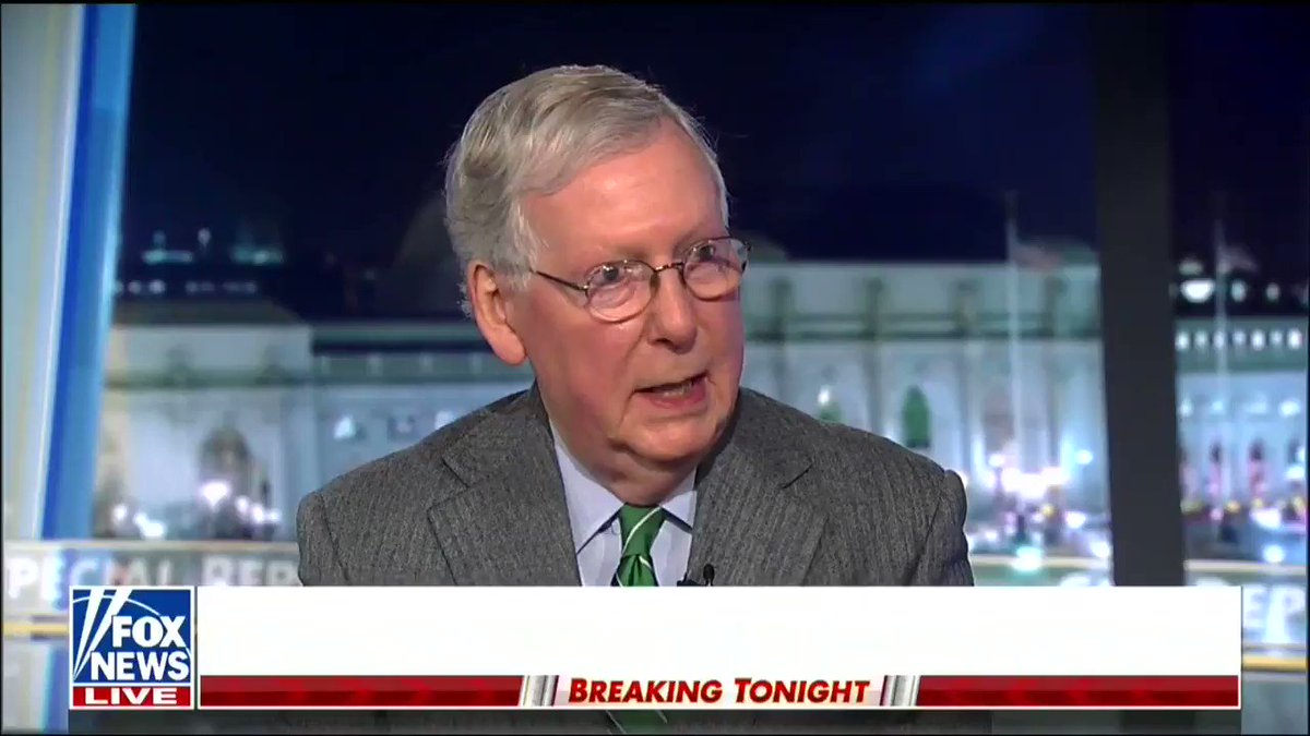 """""""I think changing the court system, putting in place men and women who believe their job is to actually interpret the law as it is written, is the most important long-term thing we can do for the country."""" -@senatemajldr"""