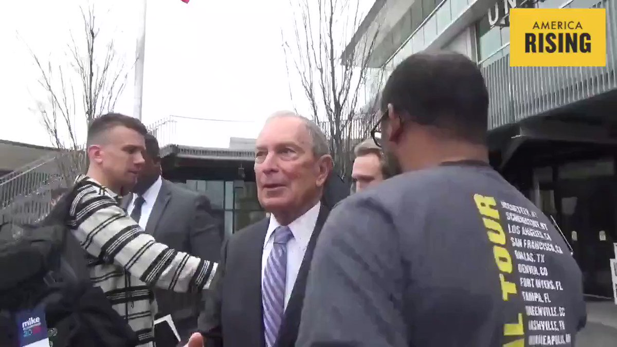 NO JOKE: Bloomberg Says 'Stop and Frisk' While Posing for Selfie 👇👇
