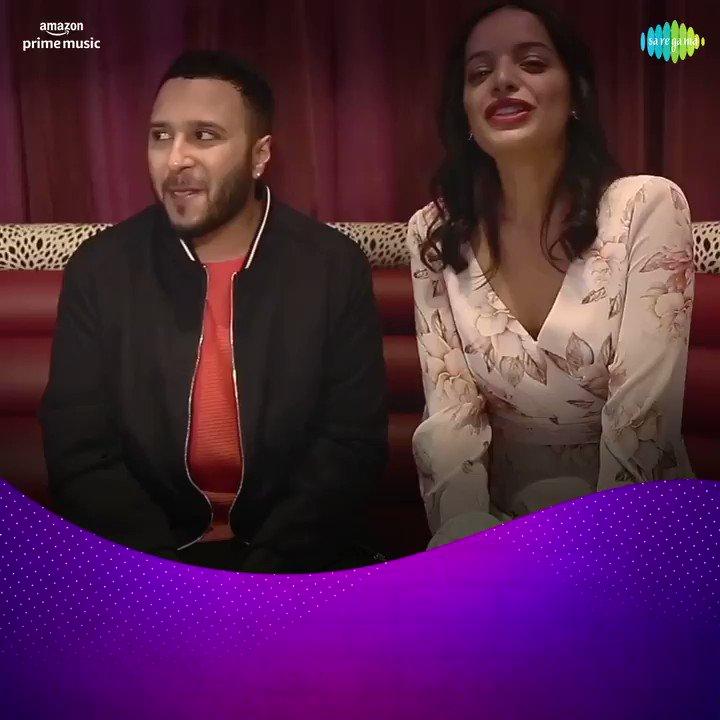 Ab aa gaye hain @iamashking aur #LisaMishra aapko pyaar se milaane😍  Listen to the latest song 'Tum Jo Mil Gaye Ho' only on @AmazonMusicIN presents #CarvaanLounge. @ArkoPravo19  📹:  🎧 #FirstOn @AmazonMusicIN: