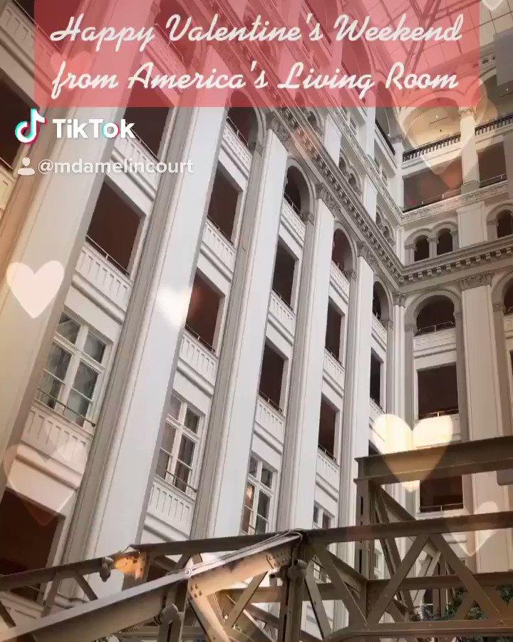 ❤️❤️❤️ from America's Living Room...#ValentinesDay2020َ #SaturdayMood #Trump #americalivingroom #onlyfivestarhoteldowntowndc #doitbetterthananyoneelse