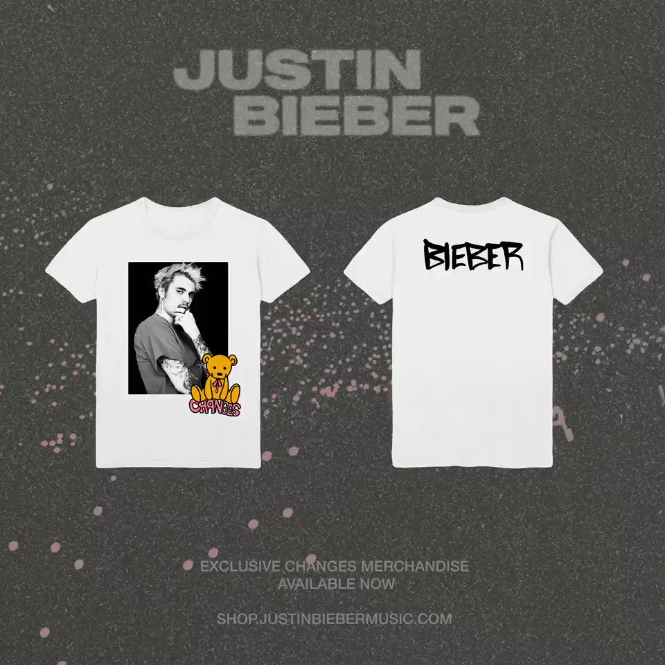 Get exclusive #CHANGES merch designed by @justinbieber
