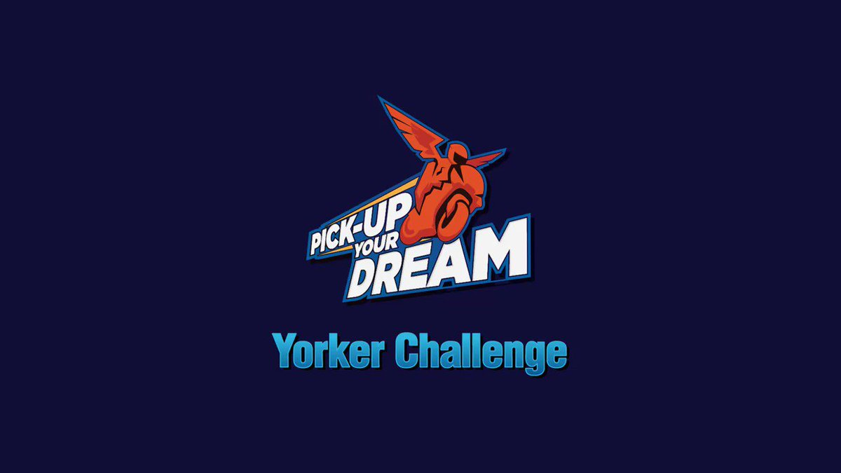 Want to learn cricket in person from #Dhoni and @hardikpandya7 ?  Take the 'yorker' Challenge, upload your video on Facebook, Instagram or TikTok using  #PickUpYourDream2   Lucky winners could get dream opportunity or meet & greet #CSK. #WhistlePodu