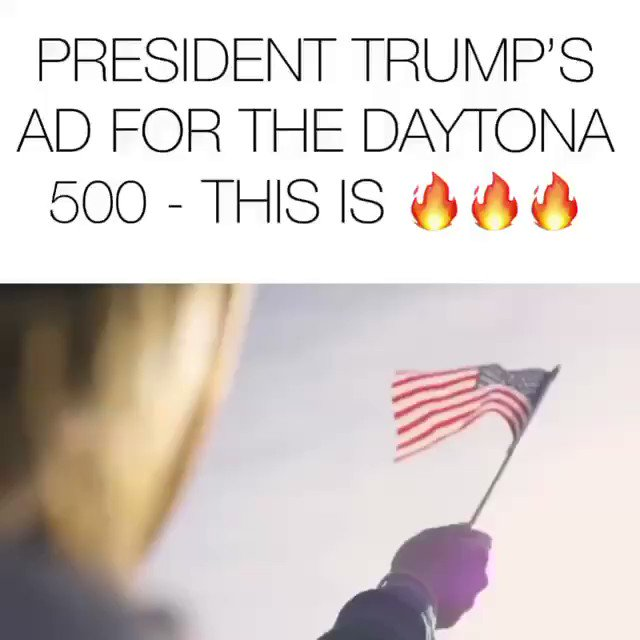 .@realDonaldTrump Daytona 500 ad.   Please retweet this so we can trigger a liberal on this fine Sunday.   Thanks for posting on IG @DonaldJTrumpJr