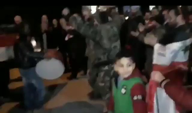 Such beautiful scenes tonight from #Syria, with Syrians celebrating the full liberation of #Aleppo from Al-Qaeda and ISIS for the first time in 8 years.  Western media should be celebrating this monumental defeat of terrorism, but it's nowhere to be found.